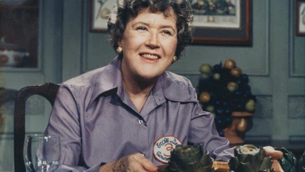 "Julia Child, the late author of ""Mastering the Art"