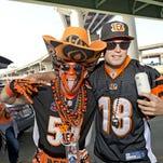 Bengals-Broncos tailgating