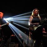 Derek Trucks performs with Susan Tedeschi at the Bonnaroo Music & Arts Festival.