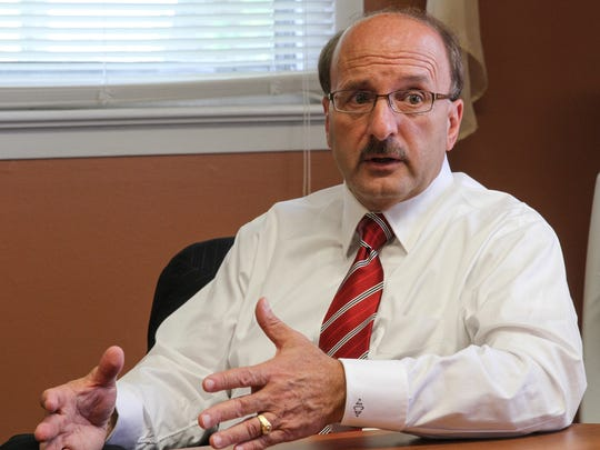 Ocean County Prosecutor Joseph D. Coronato in this file photo from Aug. 26, 2014.