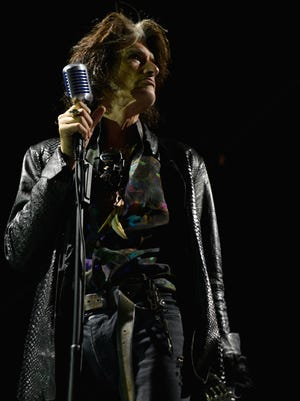 Joe Perry of Aerosmith at the 2014 Gibson Brands AP Music Awards at the Rock and Roll Hall of Fame and Museum on July 21 in Cleveland, Ohio.