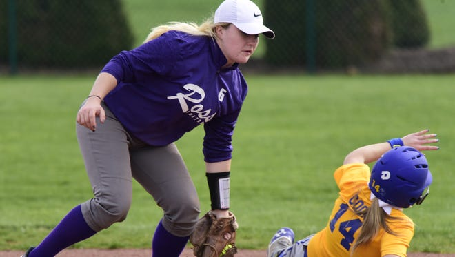 Shortstop Chloe Swaisgood was recognized first-team all-TRAC three times.
