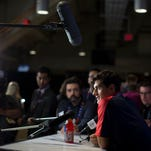 Team USA's Max Pacioretty, of the NHL Montreal Canadiens, attends a media availability for the World Cup of Hockey in Toronto, Thursday, Sept. 15, 2016.