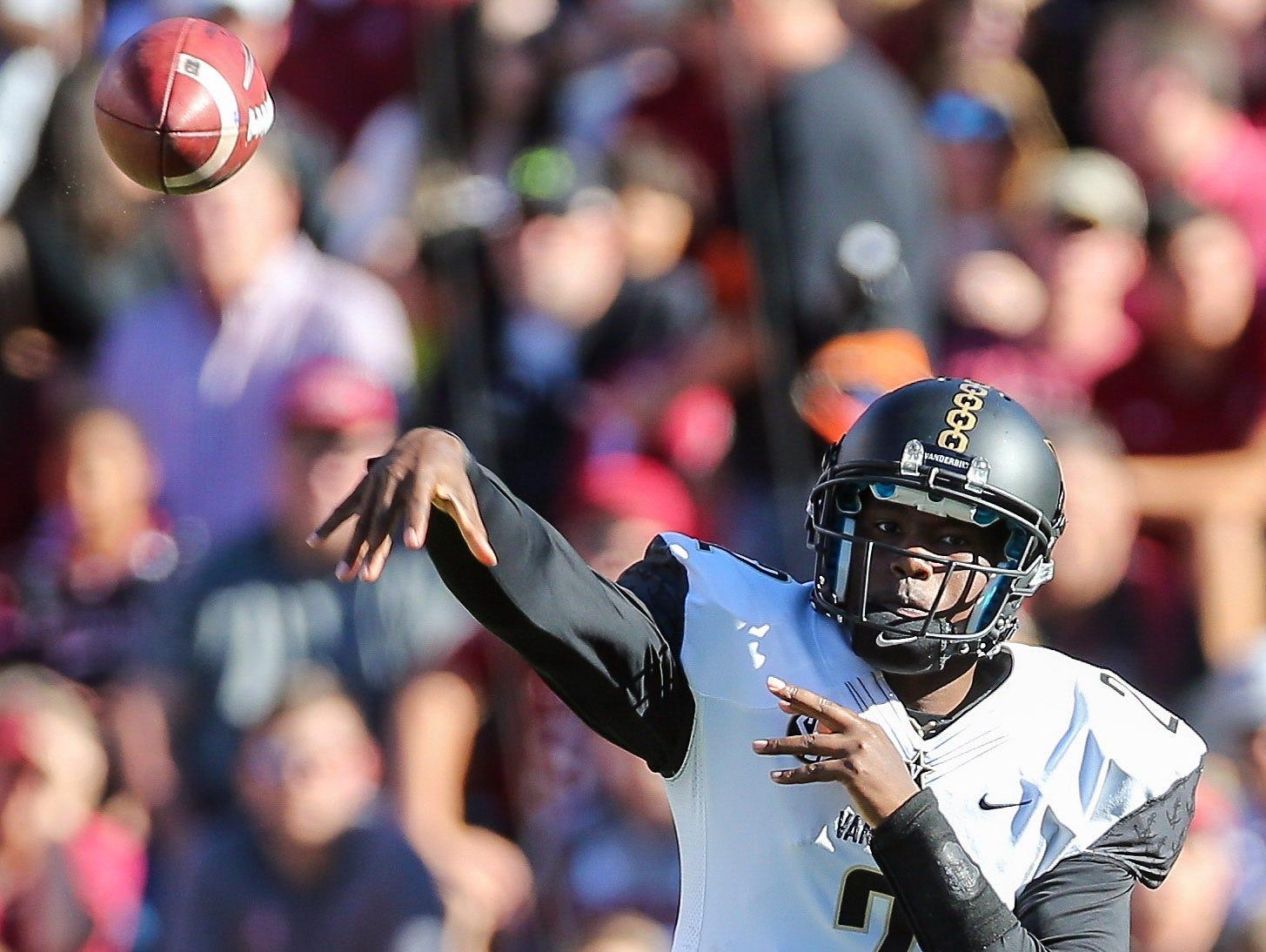 Will Johnny McCrary be Vanderbilt's starting quarterback when the Commodores face Missouri on Saturday? Head coach Derek Mason isn't ready to confirm that.