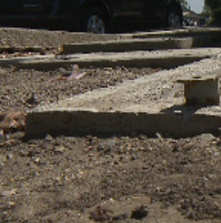 Metal valves stolen from St. Mark's Plaza along March Lane in Stockton, August 2014.