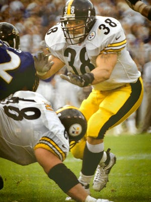 Eastern York and Penn State graduate Jon Witman, who played with the Pittsburgh Steelers, credits the NFL's  Gene Upshaw Players Assistance Trust with saving his life after he had suicidal thoughts.