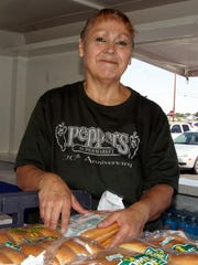 Stephanie Pacheco has served customers in a number of departments at Peppers Supermarket. She has been with the store for the past 20 years