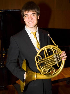Colin Bianchi will perform with the International Symphony Orchestra.
