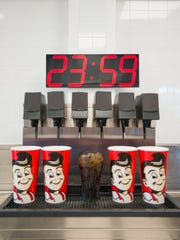 Countdown clock to Coke at Frisch's
