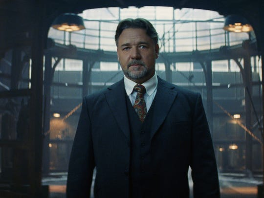 "Russell Crowe plays Dr. Jekyll in ""The Mummy."""