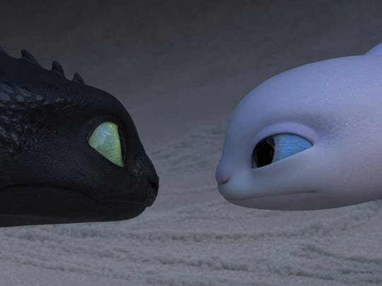 Toothless comes face-to-face with the elusive Light
