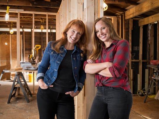 """Karen Rominger and Mina Starsiak of """"Good Bones"""" on"""
