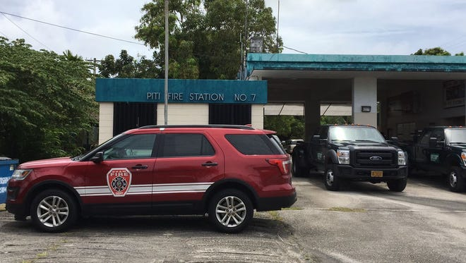 Piti Fire Station re-opens after being shut down on March 4. The station re-opened with the help of Department of Agriculture.