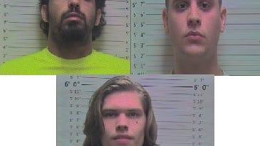 Dukhi Sulaiman Dukhi Aljuraysi, Kolby Harrison McCord, Dakota Austin White