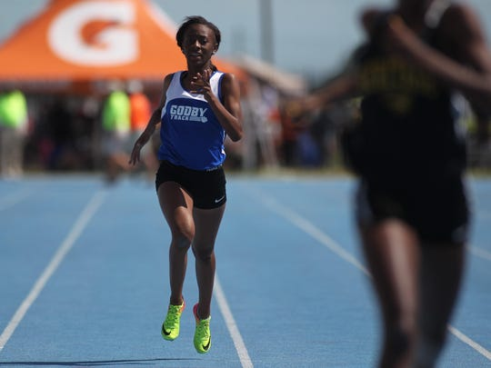 Godby freshman Akyrah O'Banner finished sixth in the Class 2A 200 and seventh in the 400 during Saturday's FHSAA Track and Field State Championships in Bradenton.