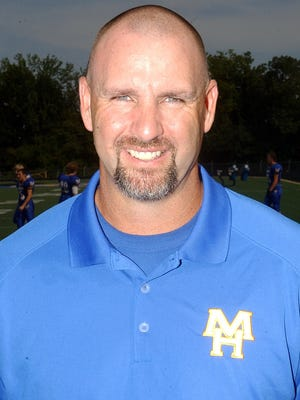 Mountain Home High School assistant coach Jim Tejcek.