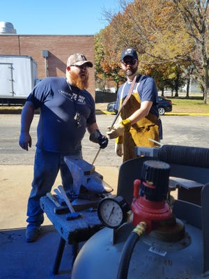 Washburn Tech will offer a blacksmithing course from 9 a.m.-3 p.m. June 27 and 28.