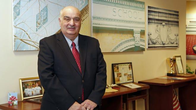 Former Yonkers schools Superintendent Michael Yazurlo.