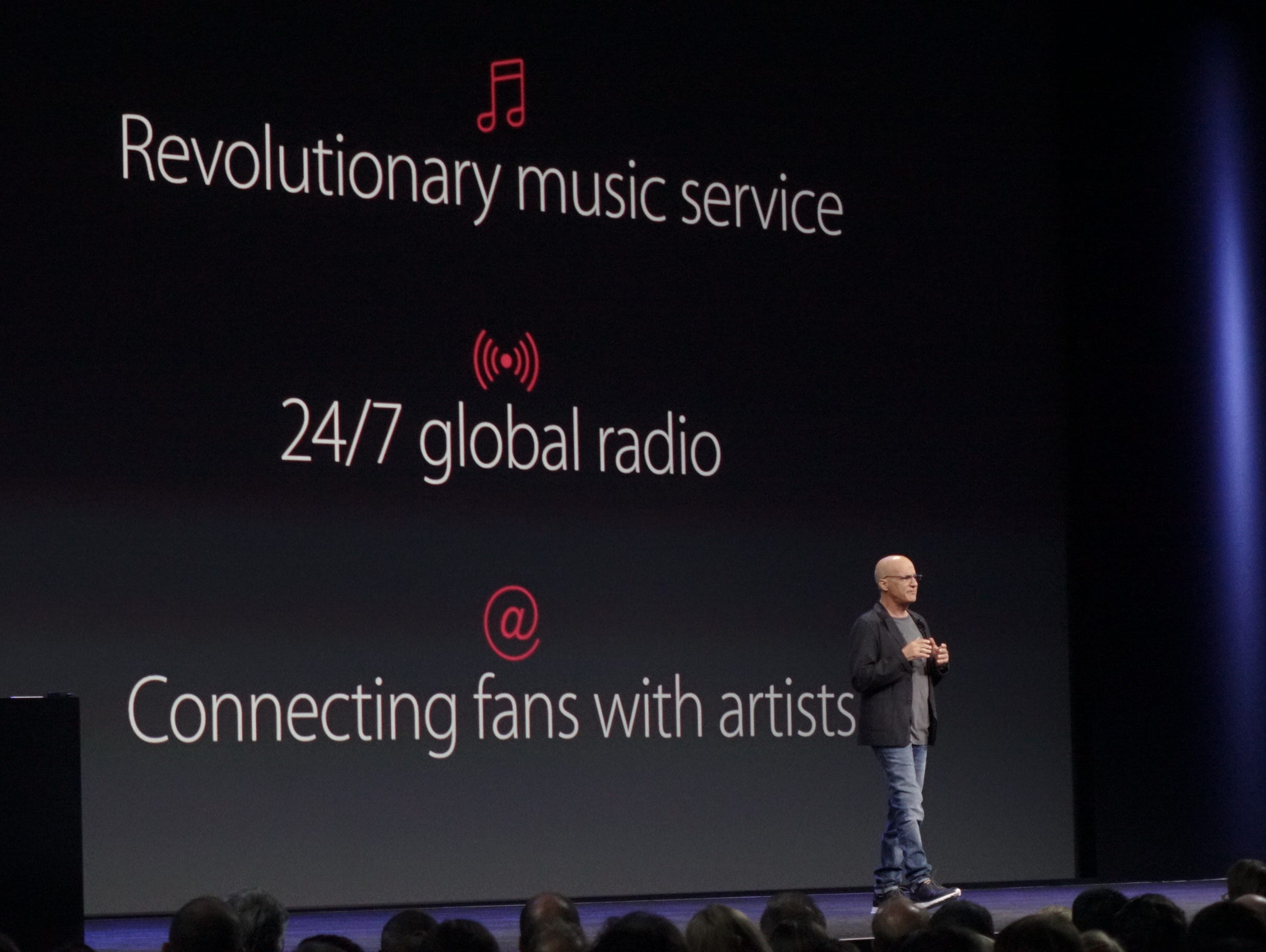 Jimmy Iovine at WWDC Apple conference