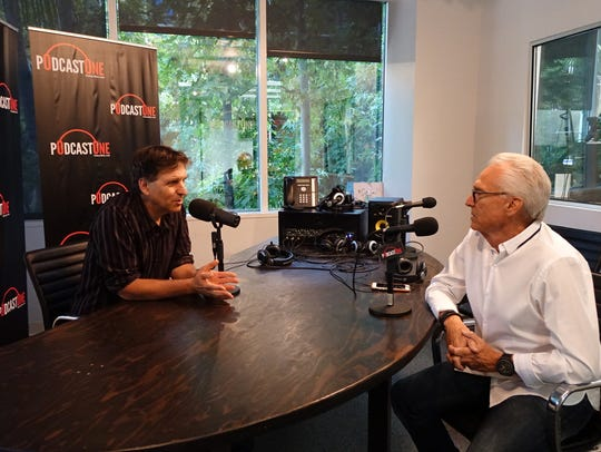 Jefferson Graham interviews Norm Pattiz at PodcastOne's