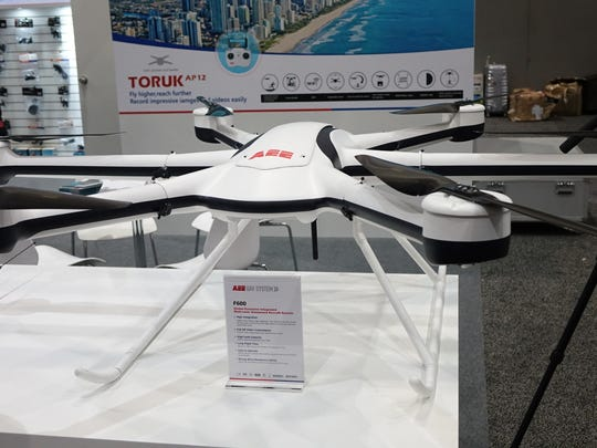AEE's F600 drone is positioned for long flights.