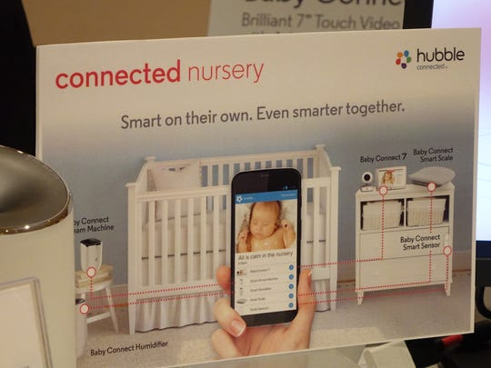 Binatone presents the Connected Nursery at CES 2016