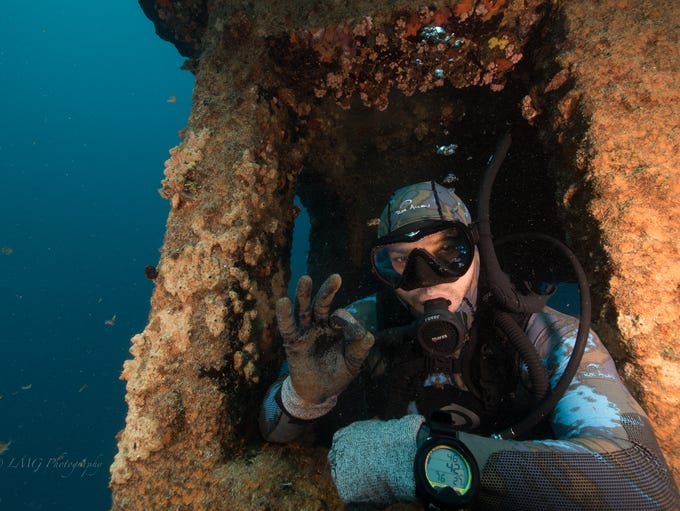 Guam's waters offer great dive sights for those interested
