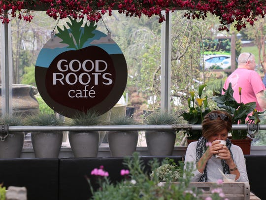 The Good Roots Cafe has opened at Rutgers Landscape