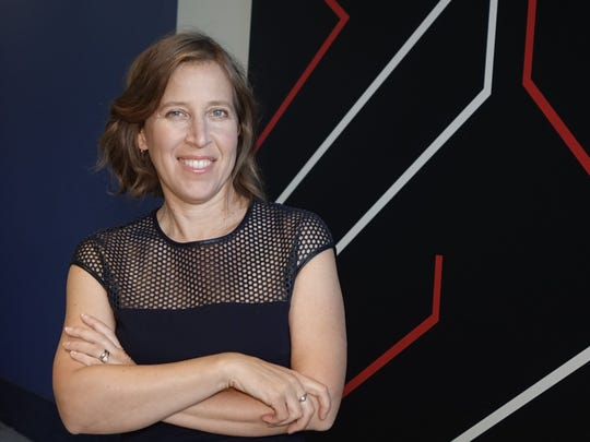 YouTube CEO Susan Wojcicki at the VidCon conference in Anaheim, California.