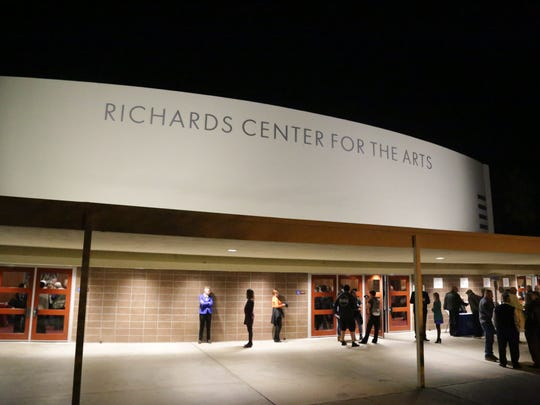The Richards Center for the Arts, formerly the Palm