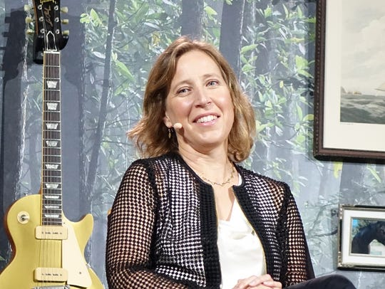 YouTube CEO Susan Wojcicki.at VidCon