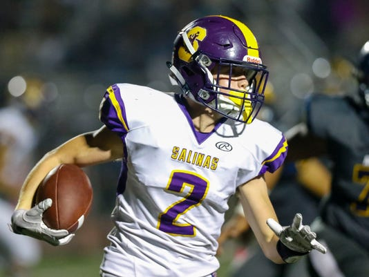 CCS Football: Salinas vs. Everett Alvarez