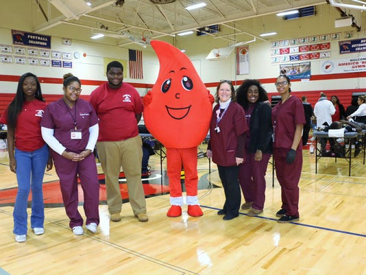 Plainfield High School successful blood drive