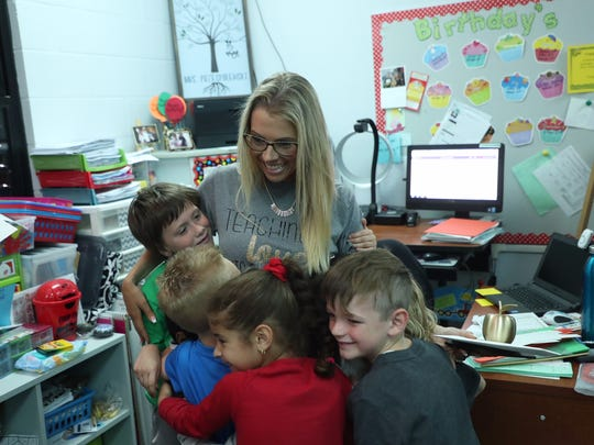 Gulf Elementary School kindergarten teacher Began Brooke