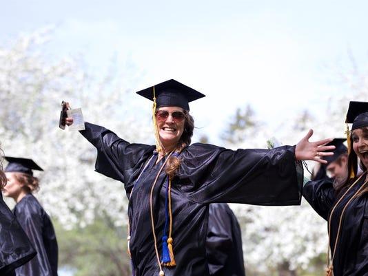 Vermont Technical College - Happy Graduate