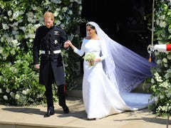 What did Meghan and Harry do with thousands of used wedding flowers?