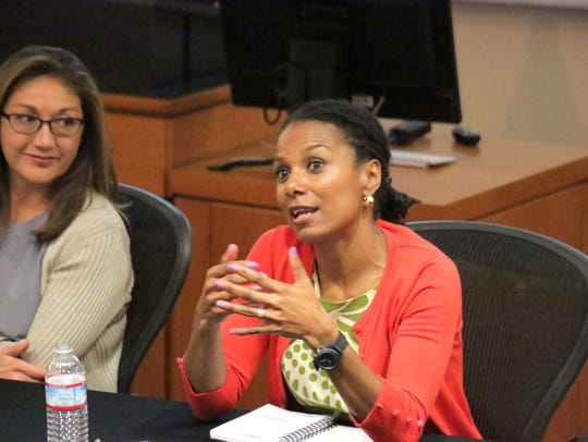 Facebook's Maxine Williams at the USA TODAY tech diversity