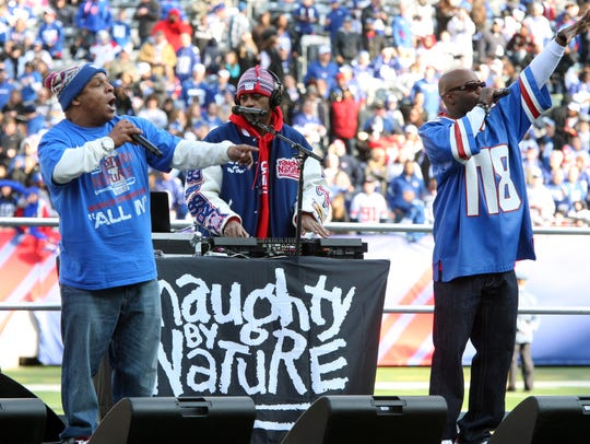 New Jersey's own Naughty by Nature preform on Feb.