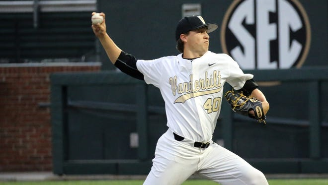 Vanderbilt pitcher and former Riverdale standout Collin Snider was taken in the 12th round by the Kansas City Royals in the MLB Draft on Wednesday.