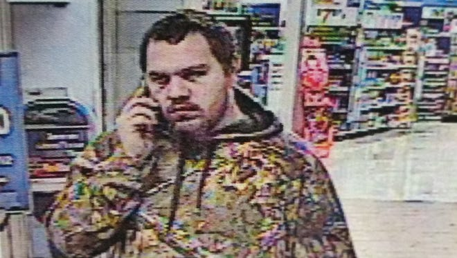 Police are looking to question this man in the reported theft of a generator from the Staunton Walmart on Friday.
