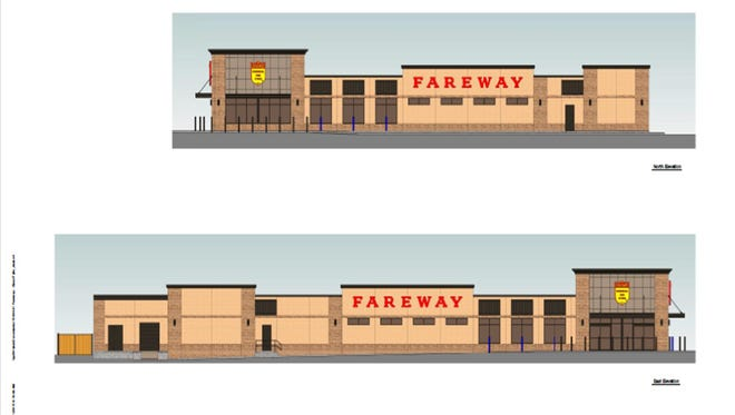 The proposed Fareway store in Johnston will look similar to a new design of a store being built in Sioux Falls, S.D.