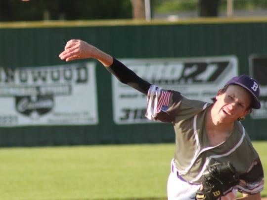 Northwood High School hosts Benton High School baseball