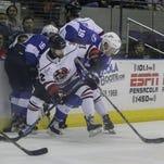 Ice Flyers unable to rekindle Friday's comeback magic