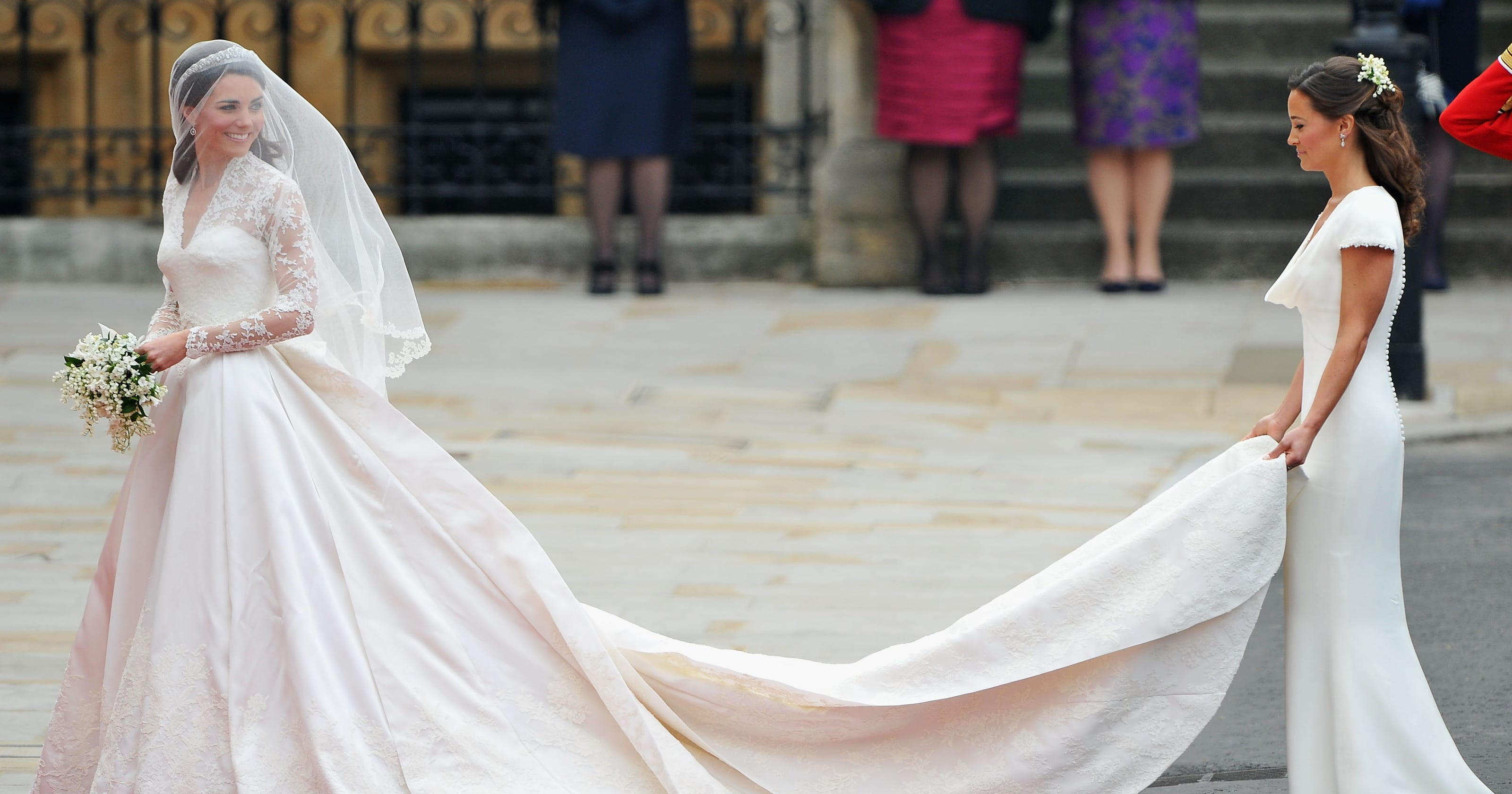 Pippa Middleton: Wedding dress fit \'a little too well\'