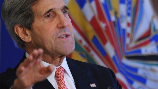 U.S. Secretary of State John Kerry says North Korea's detention of Korea War vet is disturbing.