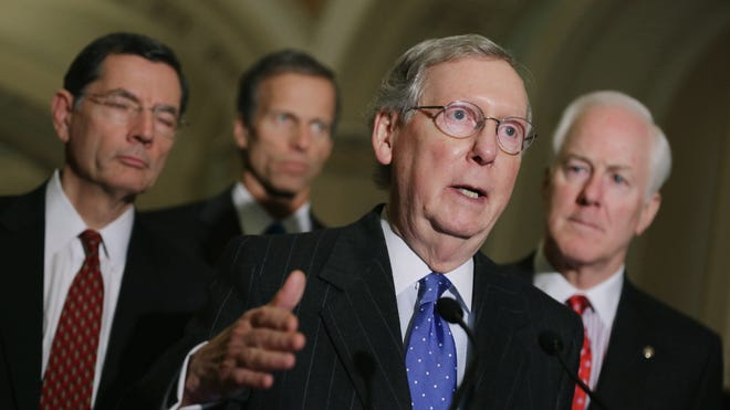 Senate Minority Leader Mitch McConnell, R-Ky., has not announced his position on a two-year budget deal, but many GOP senators oppose it.