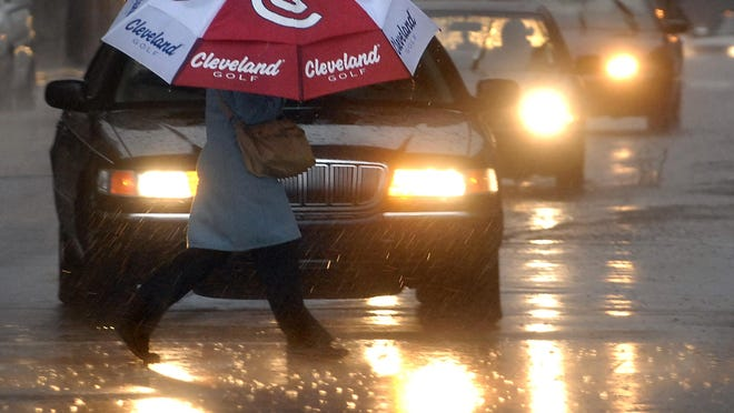 Severe storms could hit the Lansing region today, with the strongest likelihood from 4-8 p.m.