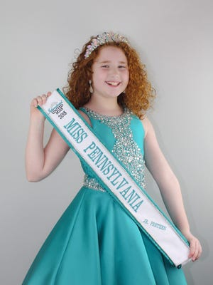 Hanover's Brianna Moscarell will represent Pennsylvania at the International United Miss pageant at the Stockton Seaview Resort in Galloway, New Jersey on July 16-20.