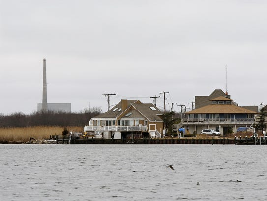 AP This 2010 photo shows homes along Barnegat Bay in