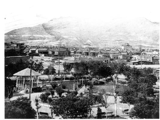 DOWNTOWN EL PASO CIRCA 1885
